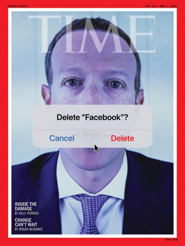 Как журнал Time потроллил Цукерберга